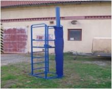 Ochranné kryty na volejbalové sloupky  / pár /
